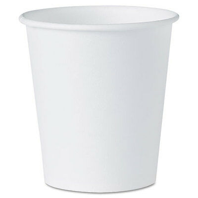 SOLO Cup Company White Paper Water Cups, 3 oz., 100/Pack, PK - SLO44