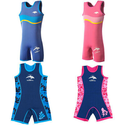 Konfidence Warma UV Wetsuit Children's Sportswear Sea Beach Kids Swim 2-7 years