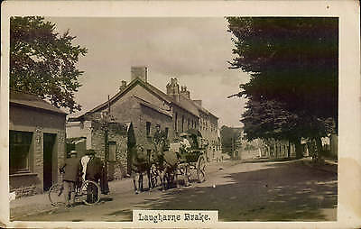 Laugharne Brake. Coach & Horses.