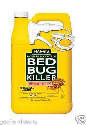 New! Harris Bed Bug & Lice Killer Spray Gel  1 Gallon