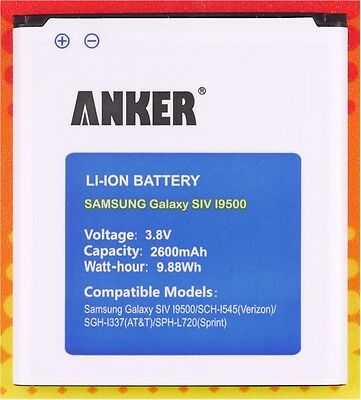 NEW ANKER 2600mAh Li-ion Battery NFC For Samsung Galaxy S4/Active S4++FREE SHIP!