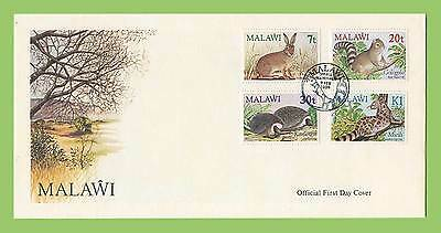 Malawi 1984 Small Mammals set First Day Cover