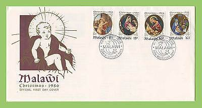 Malawi 1986 Christmas set First Day Cover