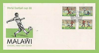 Malawi 1986 World Cup Football Championship set First Day Cover