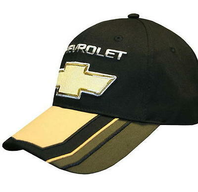 HAT - Chevrolet BOW TIE Embroidered Adjustable Ball Cap FREE SHIPPING