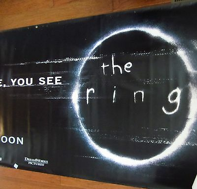 "The Ring Authentic Movie Theater Vinyl 48"" x 120"" Banner"