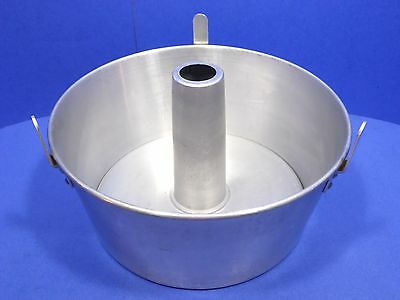 Vintage Comet Aluminum Angel Food Cake Pan Cooling Legs Tube Bundt Bakeware USA