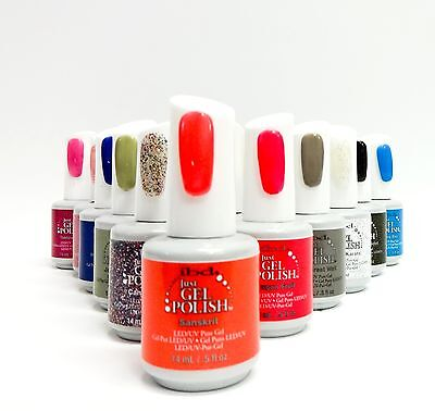 ibd Nail Soak Off JUST GEL POLISH Assorted Colors 56770 - 56793 .5oz/15ml