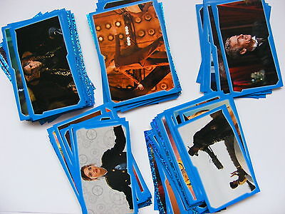 5 Topps Doctor Who Regeneration Stickers Pick From List