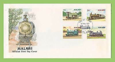 Malawi 1987 Steam Locomotives First Day Cover