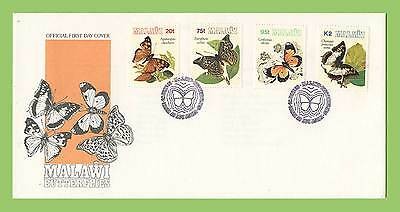 Malawi 1993 Butterflies set First Day Cover