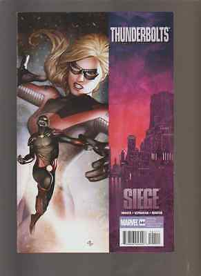 """THUNDERBOLTS  # 141   VERY FINE MINUS  """" SEIGE TIE IN"""