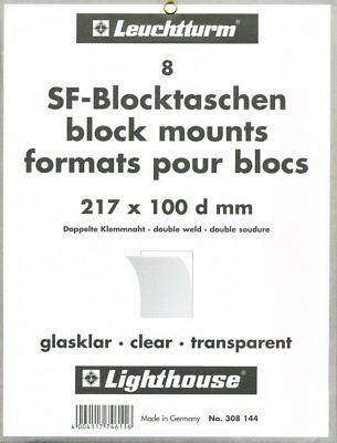 Pack of 8 Clear Lighthouse SF-Mounts 217mm wide by 100mm high.