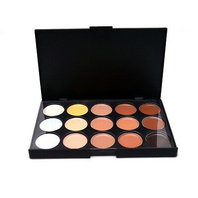 15 Colors Face Cream Makeup Palette Professional Salon Party Concealer Contour