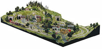 NEW Woodland Scenics Grand Valley Layout HO ST1483