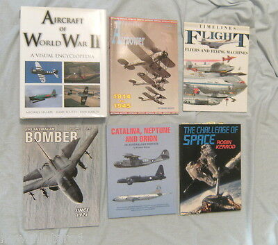 #zz.  45 Aviation Books - Many Australian Related, Many Military