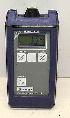 JDSU Acterna Optical Power Meter OLP-26
