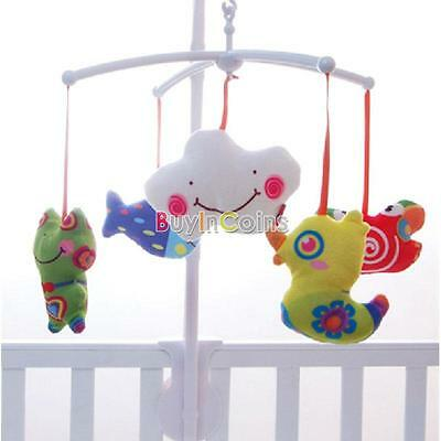 White Baby Crib Mobile Bed Sale Best Bell Bracket Wind-Up/Auto Music Box Nursery