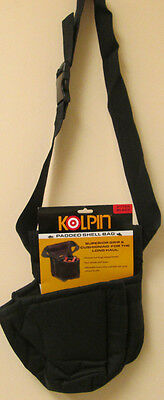 NEW NWT Kolpin Padded Cordura Shell Bag Black 21722 Belt Shotgun Waist Shooting