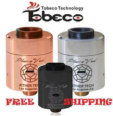 Tobeco PLUME VEIL 22mm RDA / RBA - Ships FREE from the USA!