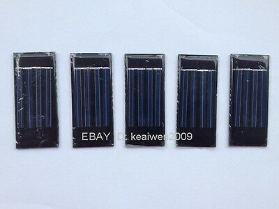 5pcs epoxy solar panel 2V 40ma solar power 1.2v AA battery polycrystalline solar