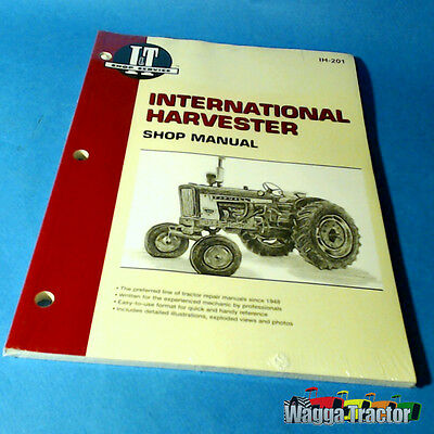 IH201 Workshop Manual International IH B275 B414 384 444 Tractor also A414 B250