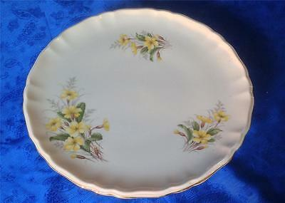 Vintage Richmond China, Porcelain Pedestal Cake Comport. Spring Flowers. PVID