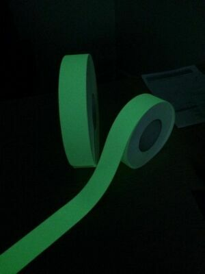 GLOW IN THE DARK ANTI SLIP TAPE GRIP TAPE -  Various Sizes