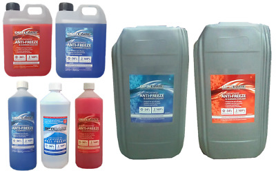 Opticare Red Blue Universal Concentrate Antifreeze Summer Coolant 1 2 4.54 20L