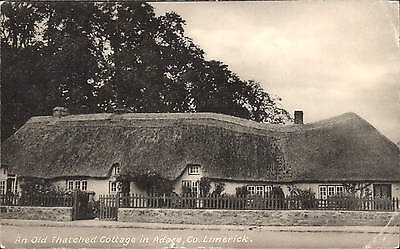 Adare, County Limerick. An Old Thatched Cottage by L. McCarthy, Adare.