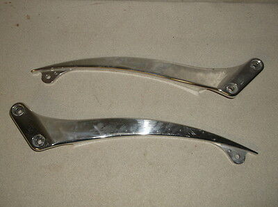 Pair of Santee Smooth Raw Steel Fender Struts for Wide Tire Applications $274