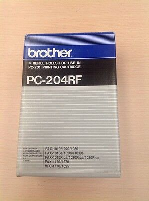 Original Brother PC-204RF Thermal Transfer Rolls 3 rolls