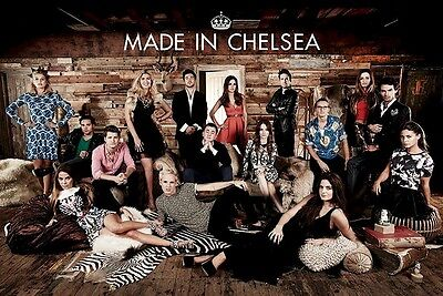 MADE IN CHELSEA POSTER ~ CAST 24x36 TV UK Reality