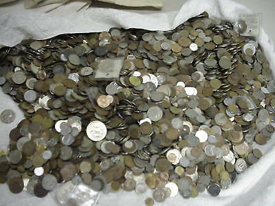 Foreign Coins Mixed One Pound Lots Each Lot Different