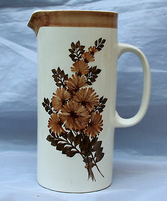 Vintage Jersey Signed Studio Pottery Jug - Height 17cm - In good condition