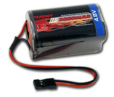 Tenergy 4.8V 2000mAh Square Receiver RX NiMH Battery Pack 11002
