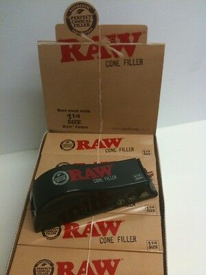 NEW! RAW rolling papers Loader/shooter/ FILLER for 1 1/4 Size PreRolled CONES
