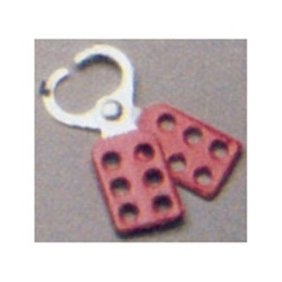 PSL-1 Padlock Lockout Hasp Safety Lockout-Tagout, Pack of 2