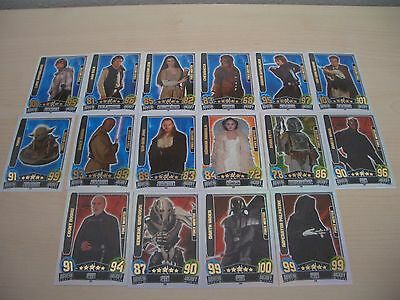 Force Attax Movie Card Serie 3 Force Meister aussuchen Topps Star Wars Karten