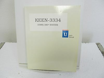 DTK Computers KEEN-3334 System User's Manual