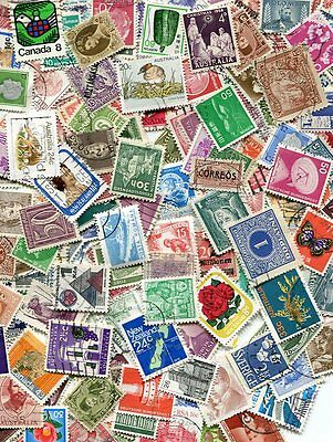 INTRODUCTORY WORLDWIDE STAMP MIXTURE OF 500 STAMPS FOR NEW COLLECTORS!