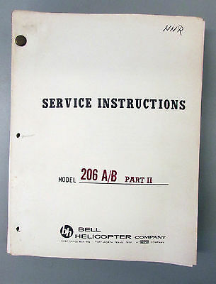 bell 47 helicopter maintenance manual