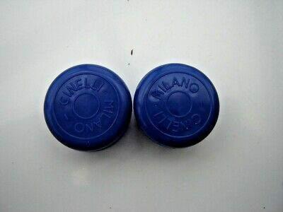 Cinelli Milano Blue Handlebars End Plugs - Nos