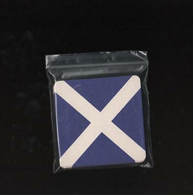 SCOTLAND Scottish Flag pack of Beer Mats / Coasters FREE POSTAGE UK