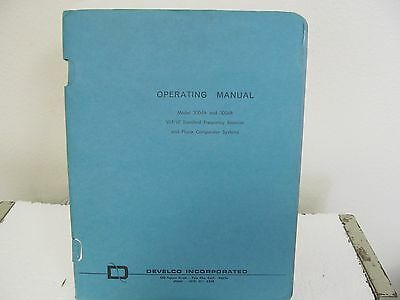 Develco 3004A,3004B VLF/LF Std. Freq. Receiver&Phase Comparator Operating Manual