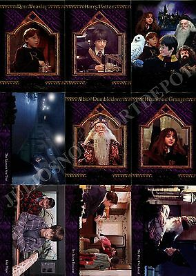 Harry Potter And The Sorcerer's Stone 2005 Artbox Complete Base Card Set Of 90