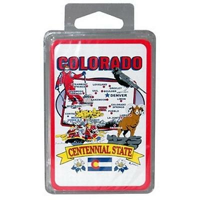 DDI 381012 Colorado Playing Cards State Map 24 Display unit Case Of 96