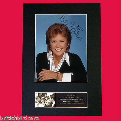 CILLA BLACK Quality Signed Autograph Mounted Reproduction PRINT A4 545