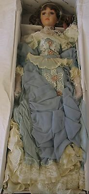 """Duck House Heirloom Porcelain Victorian 27"""" Doll Collection In Box #B20"""