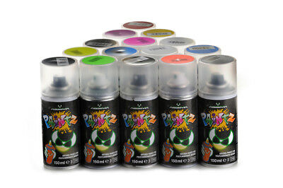 (4,60€/100ml) Absima Paintz Lexan Color Spray Farbe Gelb Yellow 150ml PS6 PS-6